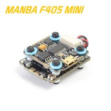 MAMBA F405 Mini FC Betaflight controlador de vuelo y F25 25A 4in1 DSHOT600 FPV Racing a sin escobillas ESC para RC MultiRotor(China)