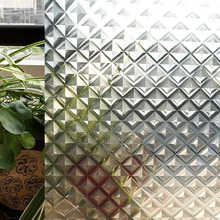 CottonColors PVC Impermeable Ventana Películas Privacidad, No-Pegamento Estática 3D Decorativo Glass Window Sticker Tamaño (90×200 cm)