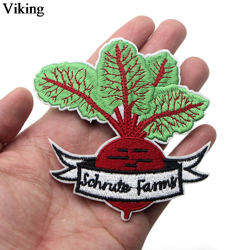 The Office TV Show Patches Iron On Embroidered Patch Cute Patches For Clothing Patch Stickers Garment Diy Bag Accessories G0006 in Patches from Home Garden
