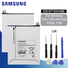 SAMSUNG Replacement Tablet Battery EB-BT355ABE 4200mAh For Samsung GALAXY Tab A 8.0 T355C GALAXY Tab5 SM-P350 SM-T355 T350 P355C srjtek 8 for samsung galaxy tab a 8 0 t355 t350 sm t355 sm t350 t351 lcd dispaly matrix screen tablet pc monitor replacement