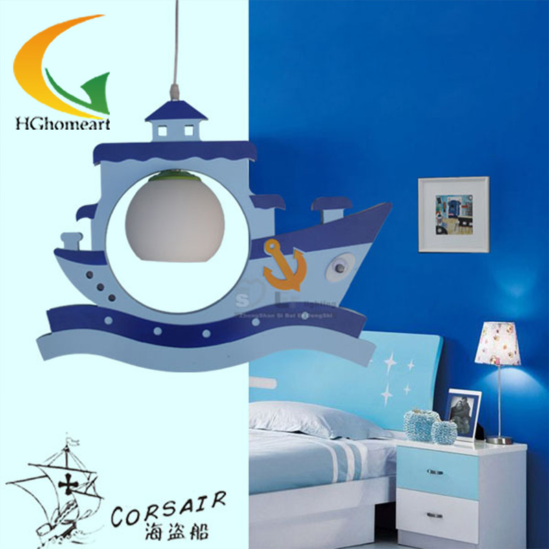 children pendant lights little blue house creative children room bedroom led lamp modern pendant light