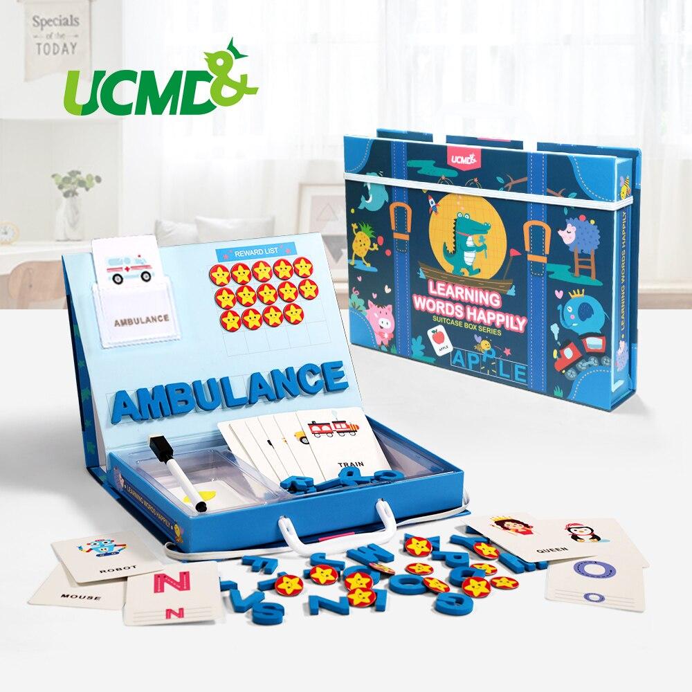 Lernen Englisch Anblick Worte Puzzles Karte Rechtschreibung Magnetic Alphabet Buchstaben Spiel Frühen Lernen Pädagogisches Spielzeug Für Kinder Geschenke-in Puzzles aus Spielzeug und Hobbys bei  Gruppe 1