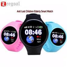 Ekran dotykowy android smart watch super lbs gps wifi agps śledzenia dzieci starszych t88 smartwatch sos zegarek passometer dla ios