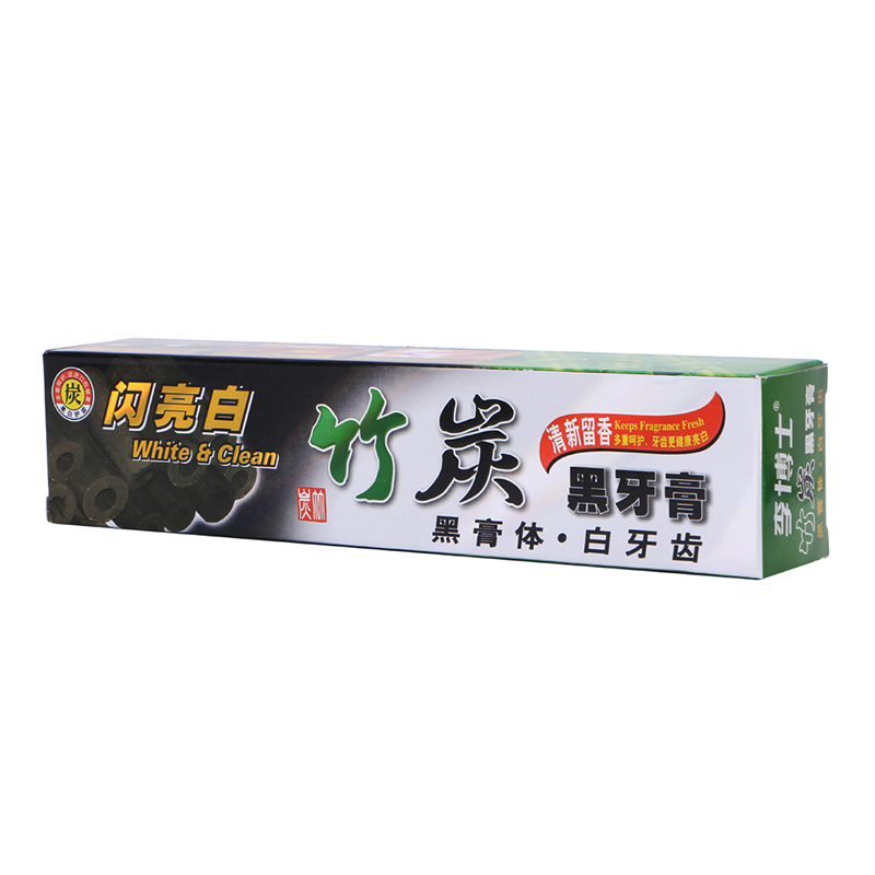 mint bambu preto carvao creme dental clareamento dos dentes higiene oral cuidados macio all purpose natural