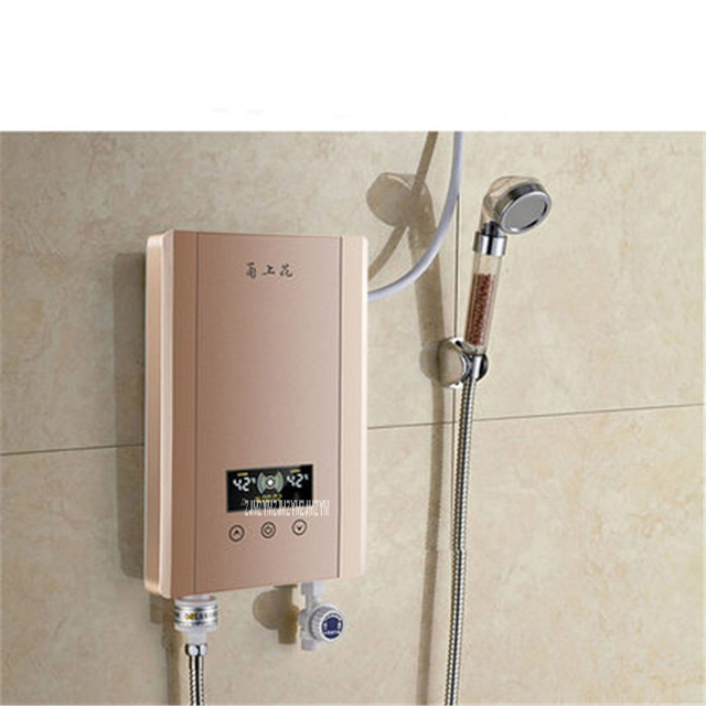 Small water heater small family solar water kit for Small bathroom heater