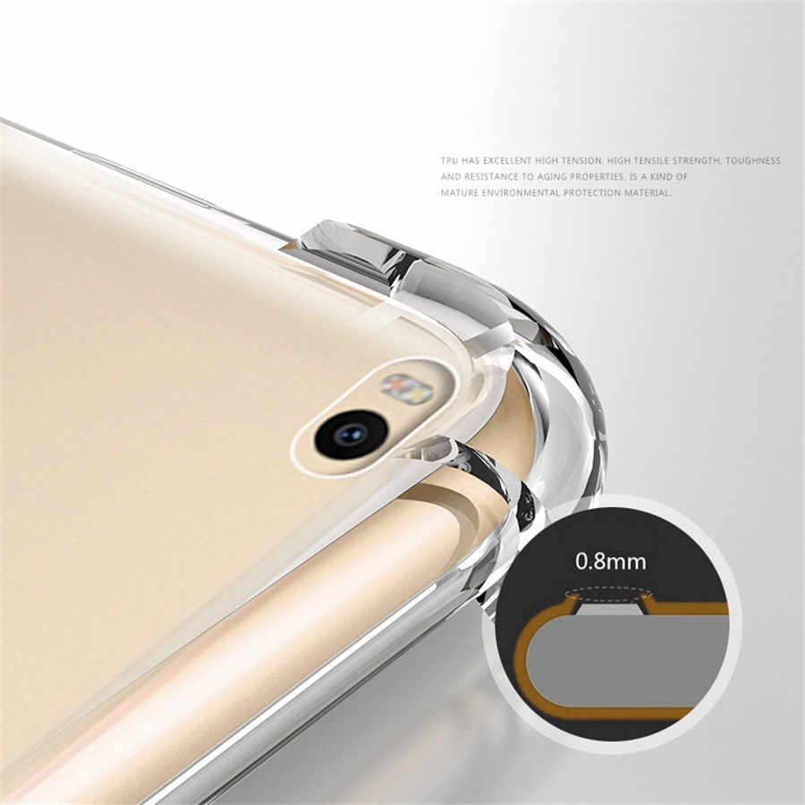 Anti-knock TPU Case for Huawei Mate 20 Pro P20 P10 P9 P8 Lite 2017 Nova 3E 3 3i 2 Honor 10 9 8 7X 8X 6A 5C Full Protective Cover