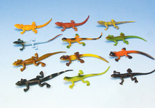 12 small lizard simulation model decorative toys furnishings dolls lifelike plastic children children toys