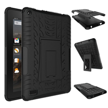 Heavy Duty Defender Rugged Armor Dazzle Shockproof KickStand Fundas Case For Amazon Kindle Fire 7 Fire7 2015 7.0″ Tablet Cover