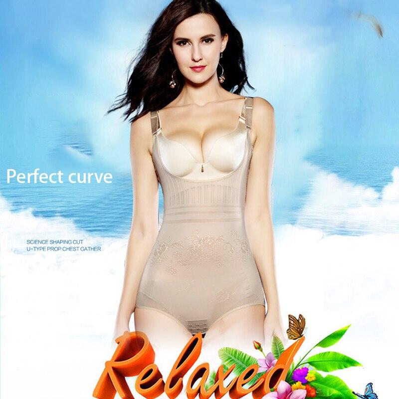 Women's Tummy Control Underbust Slimming Underwear Shapewear Body Shaper Control Waist Cincher Firm Bodysuits 2018 New Fashion 2