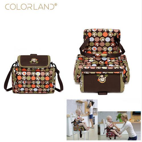 COLORLAND Portable Baby Feeding Highchair Mummy Bag Infant Booster Seat Fashion  Mummy Maternity Nappy Bag Baby Care Diaper Bag - aliexpress.com - imall.com 26f61abd09655