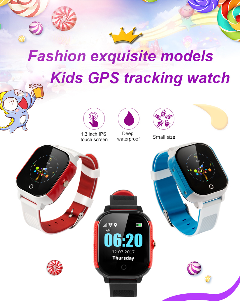 Watches Multi-color Optional Support Touch Screen Ip67 Waterproof Grade Gps+wifi+lbs Positioning Smart Kids Gps Watch Fa23 Factory Direct Selling Price