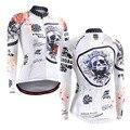 Mulheres Encabeça Ciclismo Compressão Camisas Mangas Compridas Rinding Crossfit Aptidão Camiseta Musculação Calças Camisas da Fêmea