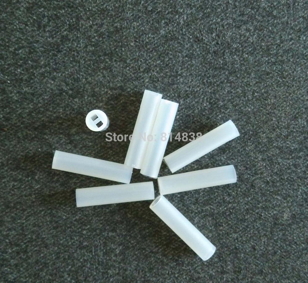 4x15.5 Diameter 4mm Length 15.5 mm Nylon PCB Board Mount LED Spacer Support Hood