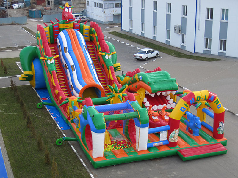 (China Guangzhou) Inflatable Slides, Inflatable Castles, Inflatable Pool SlideTOB-18