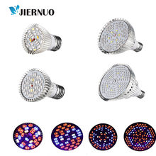 LED Grow Light 18W 30W 50W 80W E27 Full spectrum Grow Led plants for hydroponics Indoors plants growing Box/ Tent CJ
