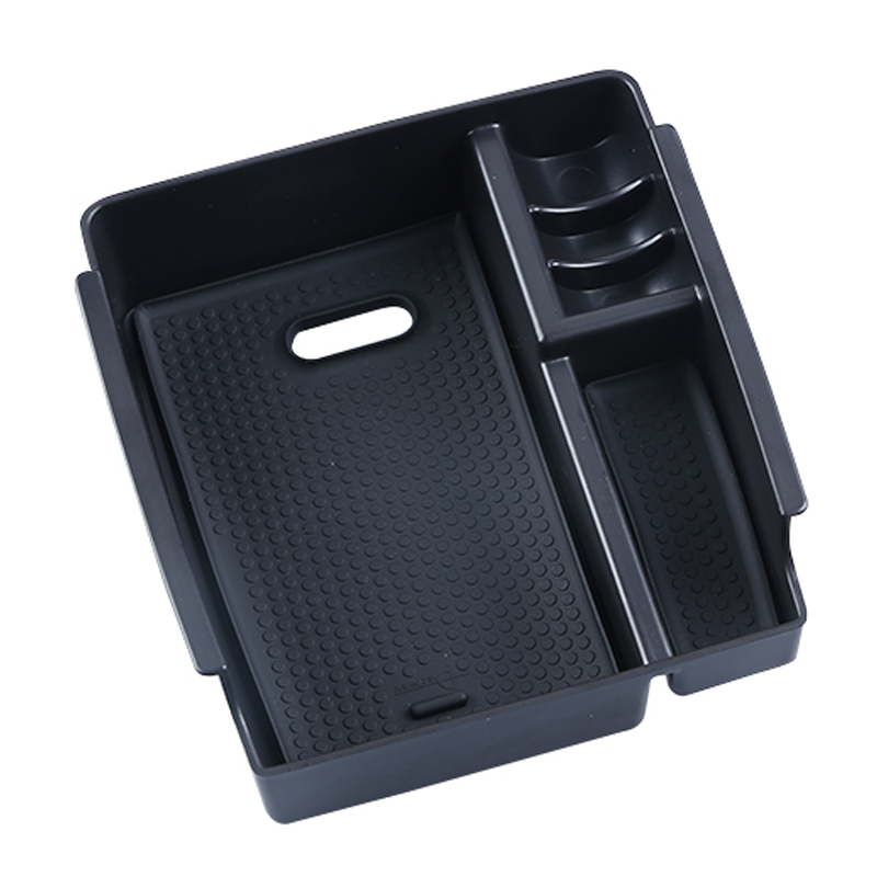 For Hyundai IX25 Creta Central Armrest font b Box b font Suitcase Storage Holder Tray Container