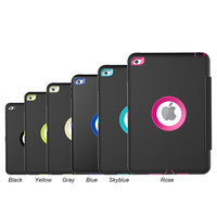 Case For Apple Ipad Mini 4 Kids Safe Shockproof Heavy Duty Silicone Hard Stand Cover For
