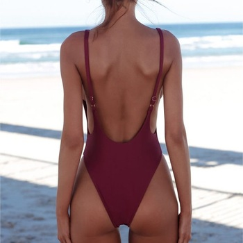 Classic High Cut One-Piece Swimsuit 4