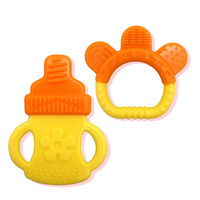 Silicone Baby Teether Stick Chewing Teeth Safety Oral Hygiene Training Tooth Brush Infant Teether Care Toothbrush