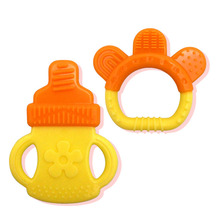 Silicone Baby Teether Stick Chewing Teeth Safety Oral Hygiene Training Tooth Brush Infant Teether Care Toothbrush Toys