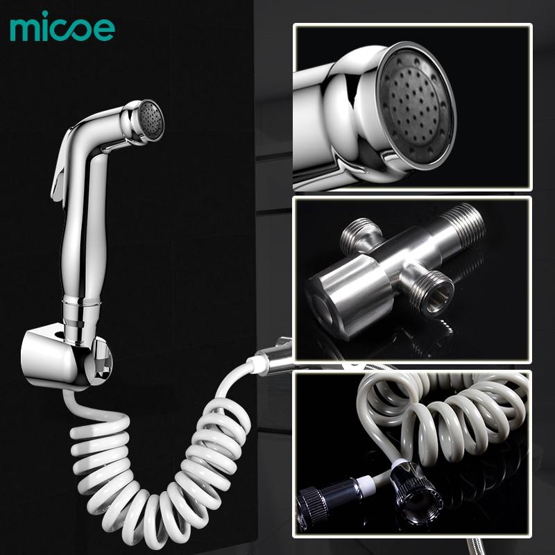Micoe wc mopp sprayer wc hand düse bad multi-funktion reinigung Bidet