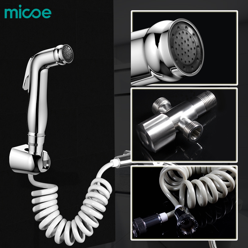 micoe toilet mop sprayer toilet hand held nozzle bathroom multi function cleaning Bidet