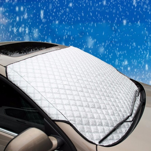 Car Snow Shade Winter Windscreen Snow Cover Anti UV Foil Windshield ...