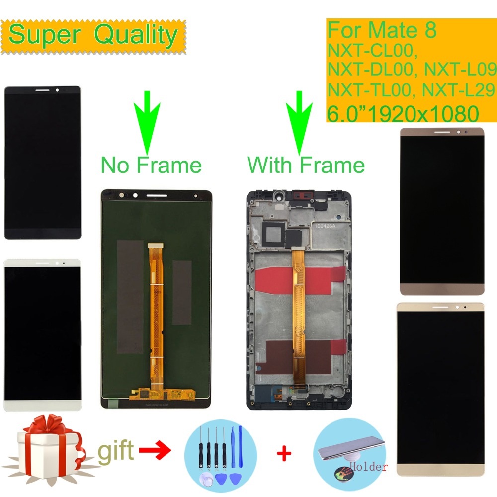 6.0 For HUAWEI MATE 8 LCD Display Touch Screen Digitizer Assembly With Frame NXT-AL10 NXT-CL00 NXT-DL00 NXT-TL00 NXT-L296.0 For HUAWEI MATE 8 LCD Display Touch Screen Digitizer Assembly With Frame NXT-AL10 NXT-CL00 NXT-DL00 NXT-TL00 NXT-L29