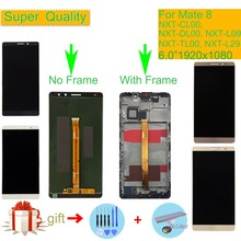 цена на 6.0 For HUAWEI MATE 8 LCD Display Touch Screen Digitizer Assembly With Frame NXT-AL10 NXT-CL00 NXT-DL00 NXT-TL00 NXT-L29