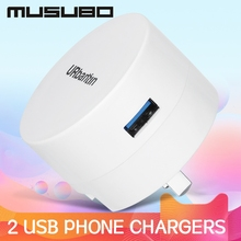 Musubo 2 USB Mobile Phone Chargers For iPhone 8 Plus 7 6 X Max Xr iPad air Pro Mini Fast Quick Charge Xiaomi Samsung S10 S9+