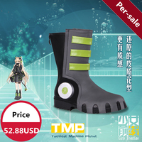 [STOCK] 2018 Anime Girls Frontline TMP Battle Low heeled Shoes Coaplay Prop For Women Halloween Carnival Free Shipping New.