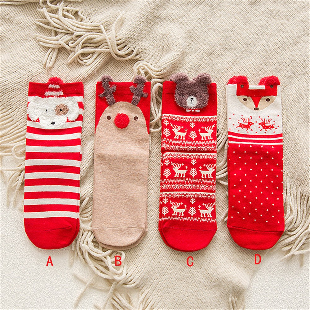 Newest Comfortable Christmas Cotton   Sock   Slippers Short Print Ankle   Socks   Xmas Meias Youthful Style Festiveal   Sock   Hocok Soxs