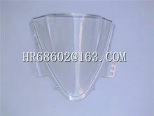 Freeshipping For Suzuki GSXR 1000 R  K5 2005 2006 gsxr 1000 r 05 06 White Windshield WindScreen Double Bubble