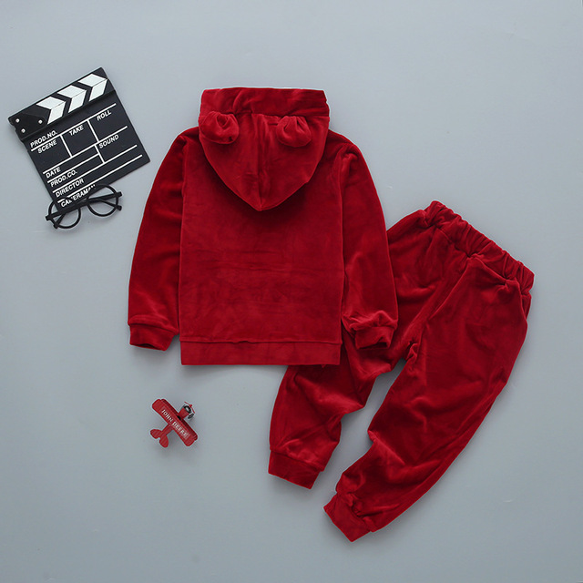 Hooded Clothing Set for Boys