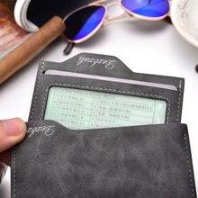 Wallet  Carteira masculina cartera portfel Leather Wallets Carteiras Monedero Hombre Billeteras Monnaie Homme Small Mens purse
