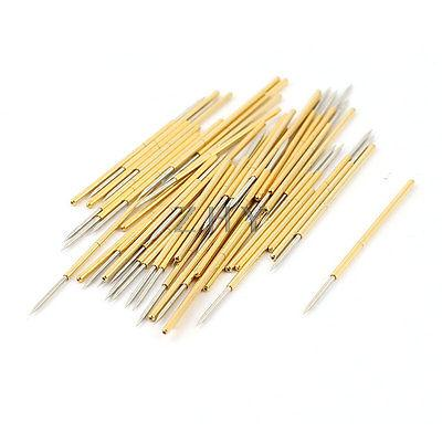 50 Pieces PL75-B1 0.74mm Spear Tip Spring PCB Testing Contact Probes Pin b spear spear multimate tm user s guide pr only
