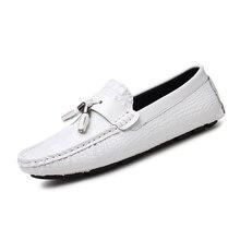 8f19da35e Fotwear الرجال متعطل الانزلاق على حذاء كاجوال خفيفة الوزن والأزياء ل حذاء  رجالي أحذية قيادة المتسكعون