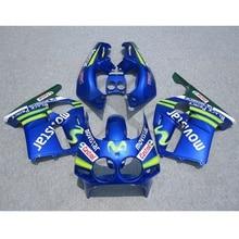 Injection ABS Plastic Fairing Kit For Honda CBR250R CBR 250R MC19 88 89 Blue