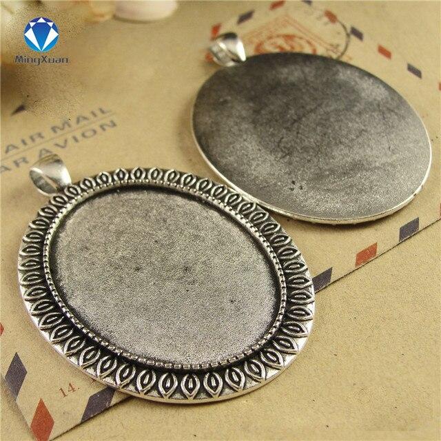 Фото 5 шт/партия металлическая камея в античном стиле диаметр 30*40