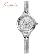 KIMIO Or De Mode Bracelet Montres Pour Femme Montre Femme Partie Élégante De Luxe Quartz-Montre Casual Étanche Relojes Mujer 532