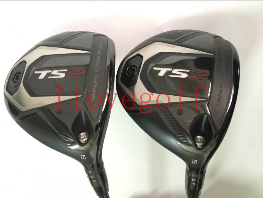 Golf Clubs TS2 Fairway Woods Clubs Golf TS2 Fairway Wood 15/19 Regular/Stiff Graphite Shafts Fast Free Shipping-in Golf Clubs from Sports & Entertainment    1