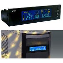 On sale 5.25″ Digital LCD Panel Fan Speed Controller CPU HDD Temperature Temp Sensor