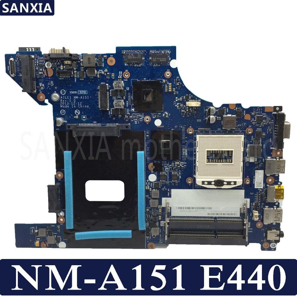 KEFU NM A151 motherboard for Lenovo Thinkpad Edge E440 original mainboard HM87