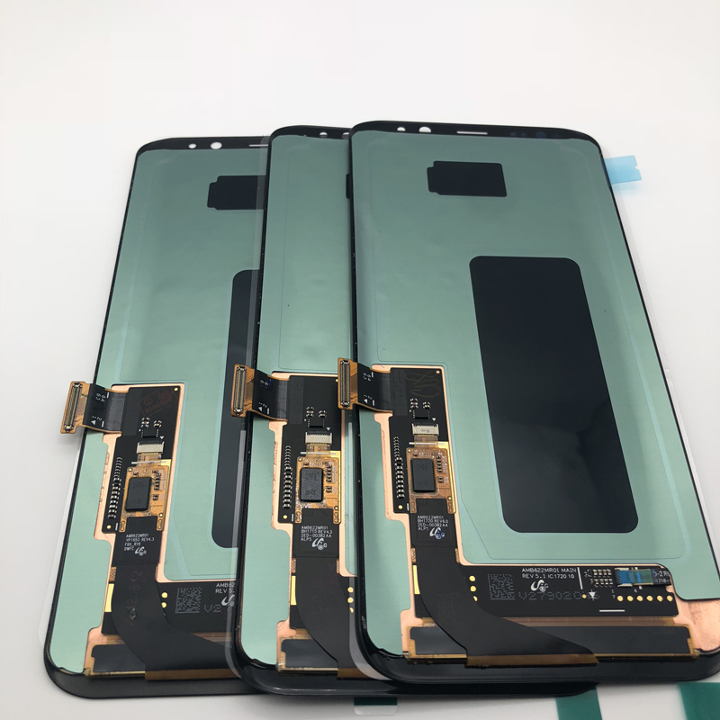 NO PIXEL NEW 100% Super AMOLED LCDs Screen for Samsung S8 Plus G955 G955F lcd display touch digitizer AssemblyNO PIXEL NEW 100% Super AMOLED LCDs Screen for Samsung S8 Plus G955 G955F lcd display touch digitizer Assembly