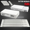 New Arrival Box Of 50 pcs Tattoo Sterile Disposable Gun Machine ink Needles Supplies 15RL Round Liner Supply High Quality Hot