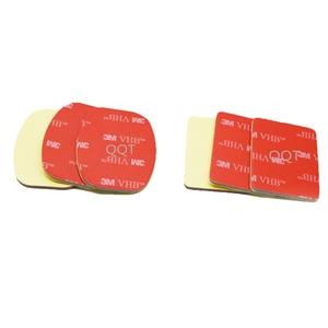 Image 5 - QQT 50 PcsสำหรับGopro Hero 5 4 3 + 3 2 SJ4000 สีแดง 3 M VHBกาวสติกเกอร์ 25 Curve 25 แบนกาวเทปติดตั้งหมวกนิรภัย