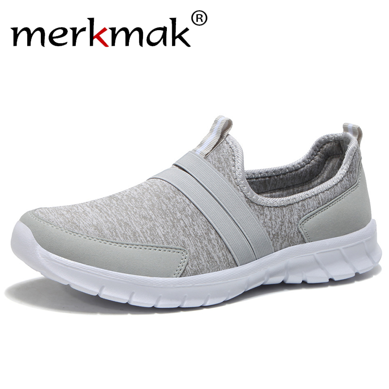 Men Casual Sneakers Summer Breathable Light Weight Fashion Shoes Comfortable Slip-On Flats Men's Shallow Sneakers Unisex 36-47