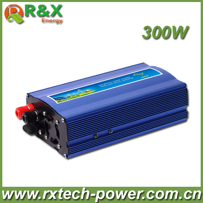 300W   DC To AC Power Inverter,Pure Sine Wave Power Inverter,DC12/24/48V to AC110-120V, AC220- 240V,CE Approval