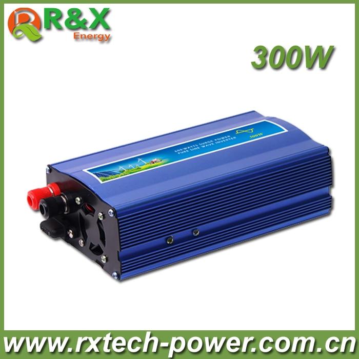 цена на 300W DC To AC Power Inverter,Pure Sine Wave Power Inverter,DC12/24/48V to AC110-120V, AC220- 240V,CE Approval