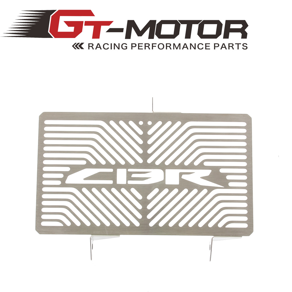 GT MOTOR - Radiator Grille Grill Cover Protector Guard For HONDA CBR250 CBR300 2010-2013 motorcycle radiator protector grille grill cover guard for honda cbr 250r 2011 2013